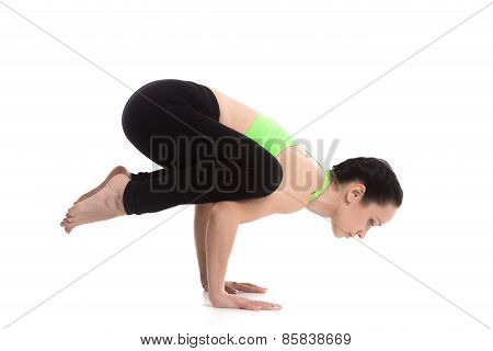 Crane (crow) Yoga Pose