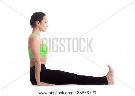 Staff Yoga Pose