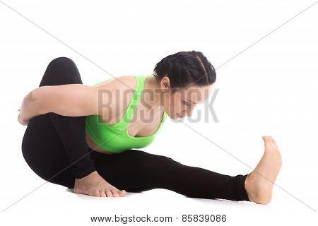 Marichyasana I Yoga Pose