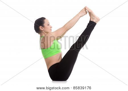 Both Big Toe Yoga Pose