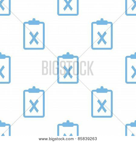 Not performed seamless pattern