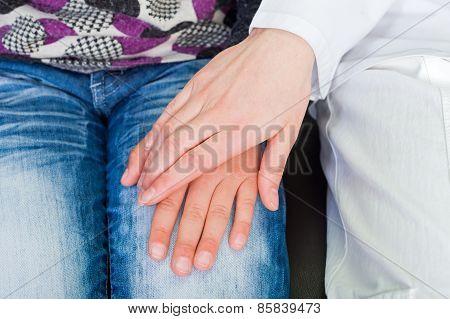 Reassuring Hand