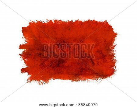 Watercolor Red Background.