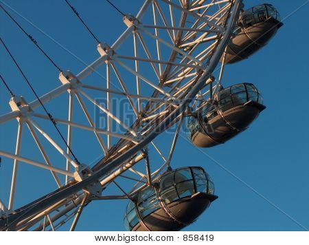 London Eye, gondola close up