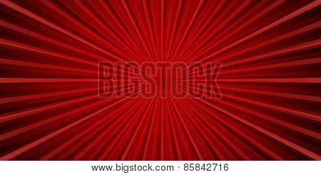Rad lue striped background