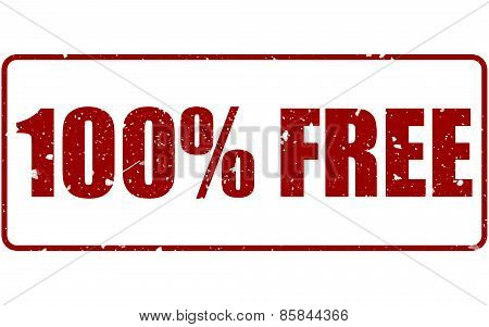 100% Free Rubber Stamp