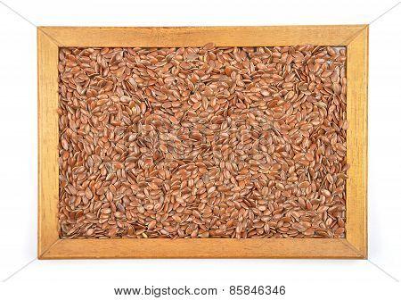 Flax Seed In Frame