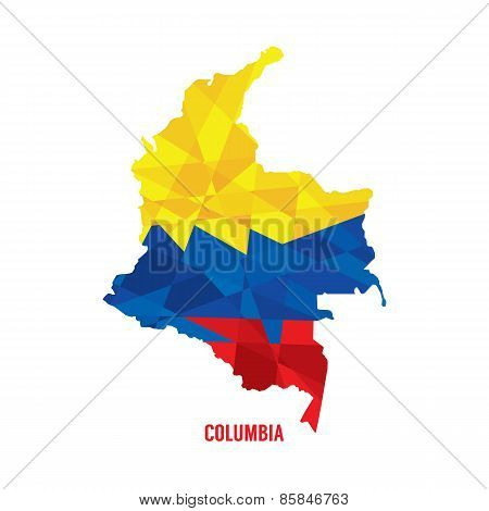 Map Of Columbia.