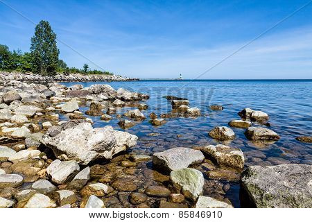 The Baltic Sea Coast In Sassnitz
