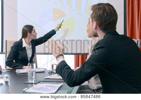 Discussion of the presentation