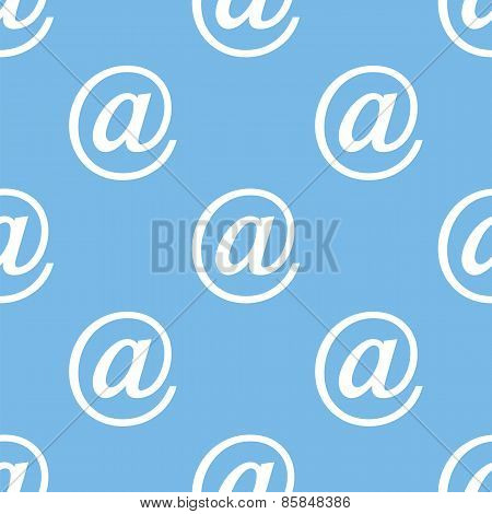 Email seamless pattern