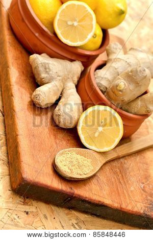Ginger in healthy diet - nutrition