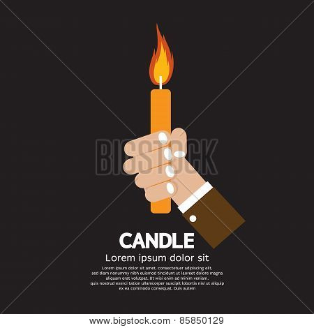 Candle In Hand.