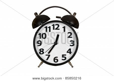 Alarm Clock Isolated