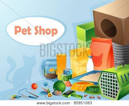 Pet shop concept