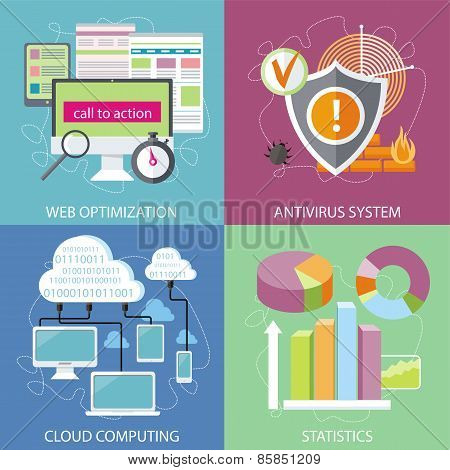 Antivirus system, cloud computing, statistics