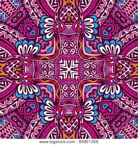 ethnic seamless pattern ornamental