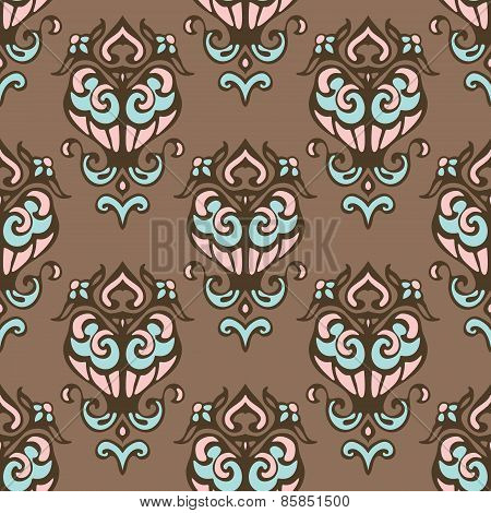 cute vintage seamless vector pattern