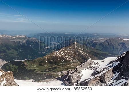 View From Jungfrau Mountain, Switzerland