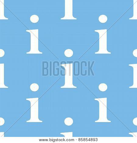 Info seamless pattern