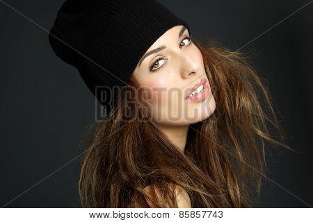 Girl In Beanie