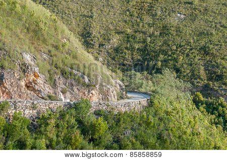 Montagu Pass Over The Outeniqua Mountains