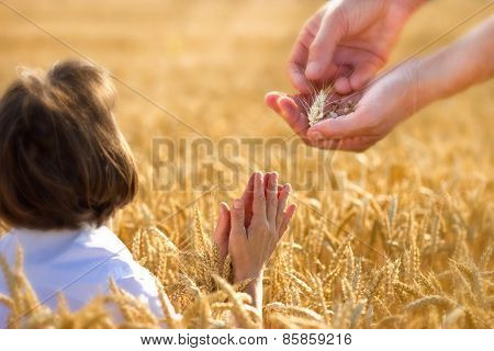 Prayer for a rich harvest