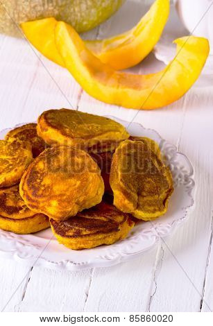 Fritters With Pumpkin