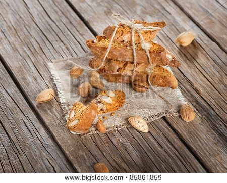 Typical Tuscan Biscuits Biscotti