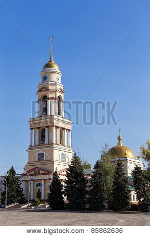 Cathedral Of The Nativity In Lipetsk. Russia