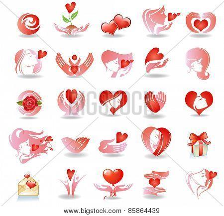 Emblems on love