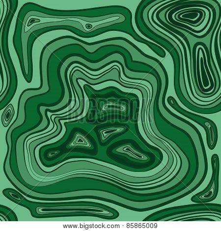illustration of malachite