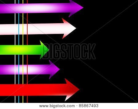 Arrows with lines