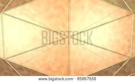 metal copper background plate