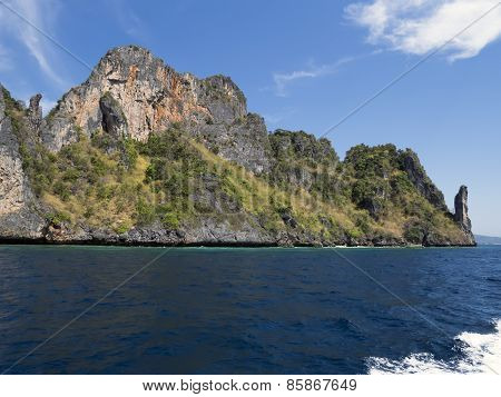 Koh Phi Phi Leh Rocks.