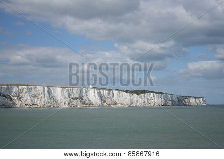 Weiße Klippen bei Dover