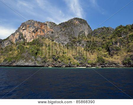 Koh Phi Phi Leh Coast.