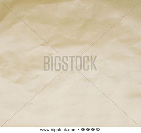 Paper Texture. Sepia Paper Sheet.