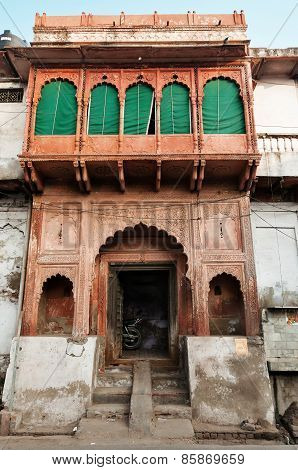 Beautiful Gates In House In Agra
