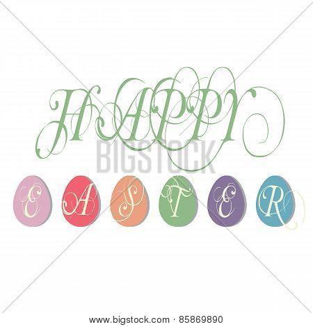 Easter Illustration Greetings Illustration