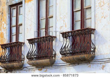 Old Historic Facade