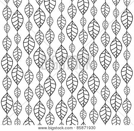 Hand Drawn Leaves Backgrounds