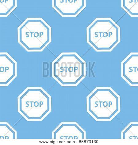 Stop seamless pattern