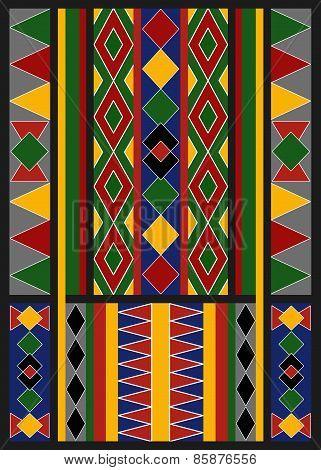 Ethnic Arabic African Baduy Pattern