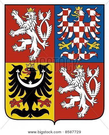 Czech Republic Coat Arms