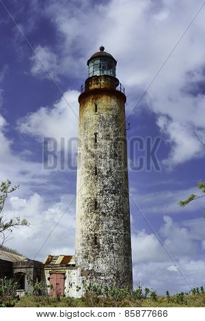 East Point - One Of The Four Lighthouses In Barbados