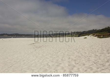 Carmel By The Sea Beach In California