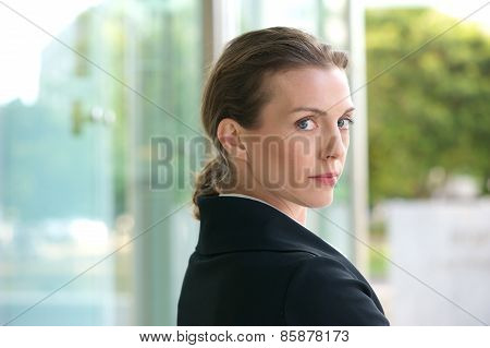 Close Up Portrait Of An Attractive Profession Business Woman