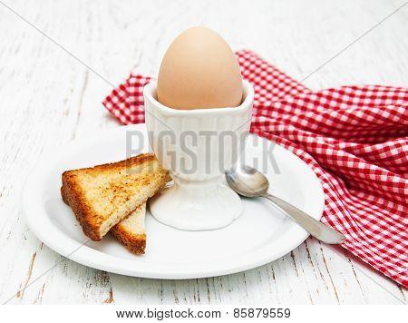 Boiled Eggs For Breakfast
