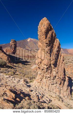 Roque De Garcia, Pico Del Teide, Tenerife, Spain